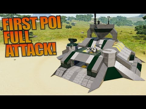 FIRST POI FULL ATTACK! | Empyrion: Galactic Survival | Let's Play Gameplay | S12E07