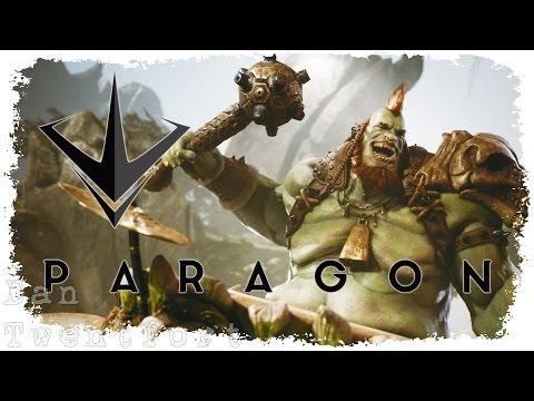 видео: paragon v0.30.1 #1 ● Первый взгляд на новую версию игры Парагон с новым героем Нарбаш