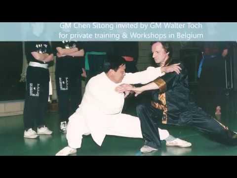 Grandmaster Walter Toch with traditionel Chen Taiji from Chenjiagou