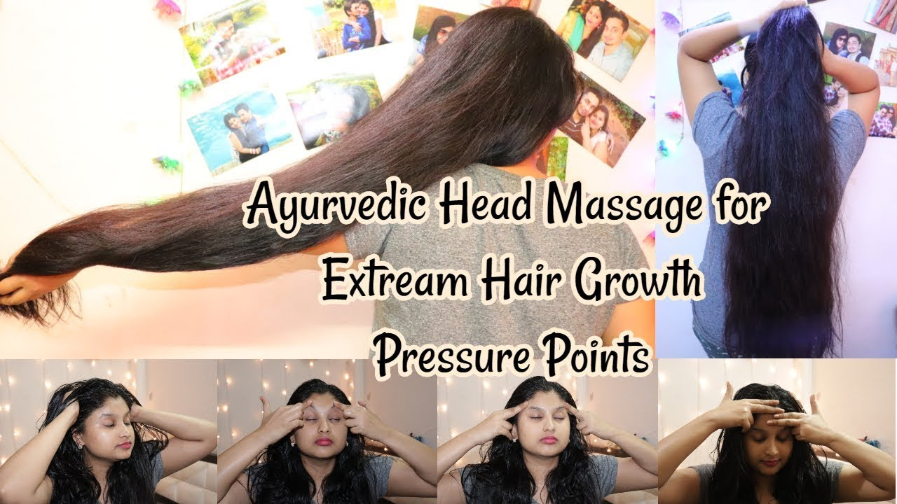 Ayurvedic Indian Pressure Point Head Massage For Extreme HairGrowth &  RelaxationPrakshi Versatile