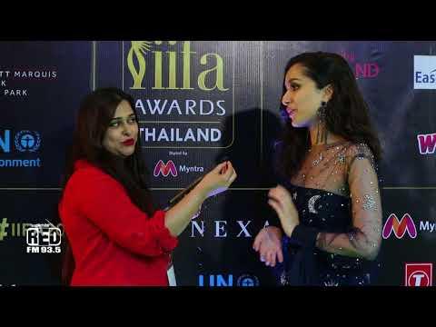 IIFA 2018 | Shraddha Kapoor | IIFA Rocks Green Carpet | Bangkok | Thailand