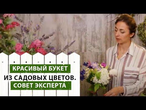Композиция цветов из садовых цветов своими руками