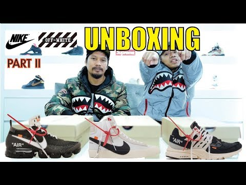 Episode 4 : Unboxing Nike x Off White Part II