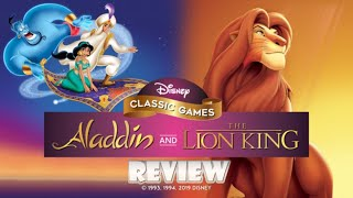 Disney Classic Games: Aladdin and The Lion King (Switch) Review (Video Game Video Review)