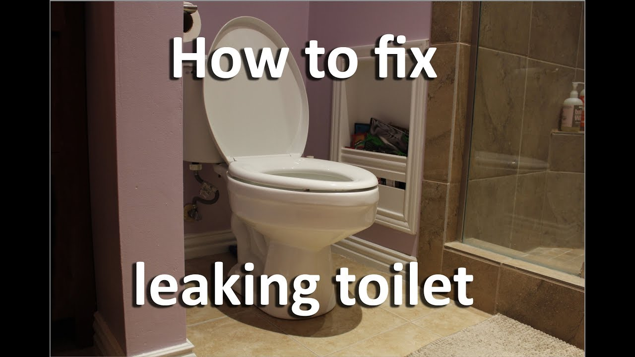 How to fix leaking toilet | No Cost | Save Money