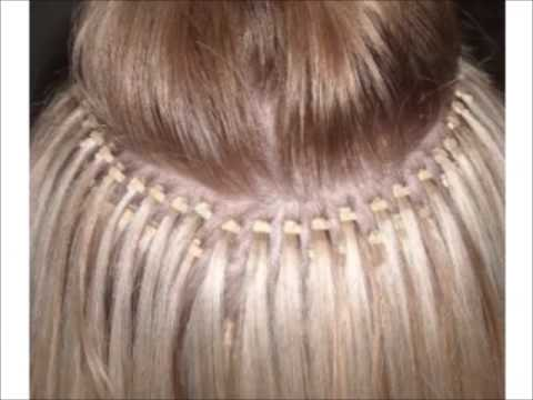 The Beads For I Tip Hair Extensions Microrings Blonde