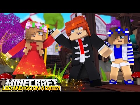 LEO & LITTLE KELLY GO ON A DATE! Minecraft Royal Family w/LittleCarly (Custom Roleplay)