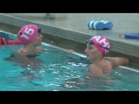 Arrowhead High School swimmers participate in 24-hour relay to raise money for cancer
