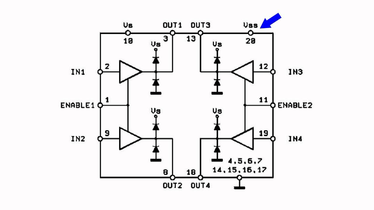 small resolution of ic l293d motor driver chip