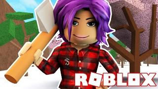 BECOMING THE BEST ROBLOX LUMBERJACK!