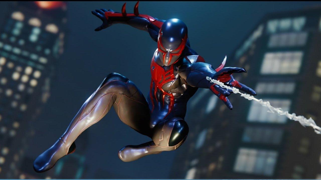Spiderman 2099: SPIDER MAN 2099 BLACK SUIT GAMEPLAY