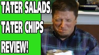 Larry The Cable Guy Tater Salad Potato Chips Review