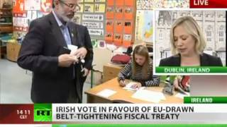 Ireland votes for austerity with EU gun to its head