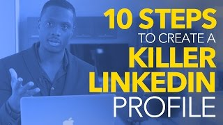 KATİL Linkedın Profili - 10 Basit Adımları oluşturma