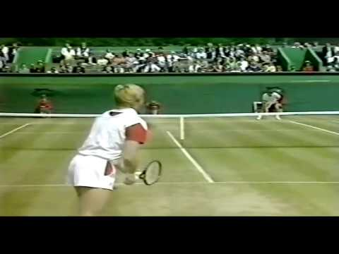 Boris Becker vs Jimmy Connors  Final Queens 1987