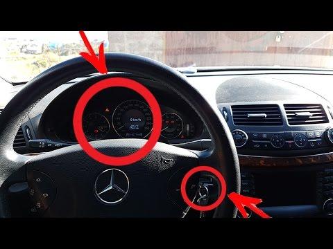 как сделать сброс на машине мерседес