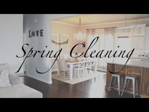 SPRING CLEANING 2018 | CLEAN WITH ME | 6 CLEANING TIPS