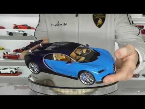 Bugatti Chiron By Gt Autos 1 18 Scale Full Review Youtube