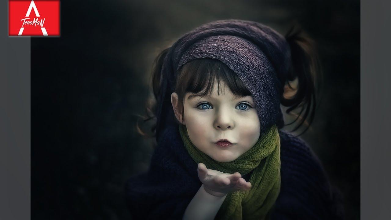 Digital Painting creepy Effect – Photoshop Effects