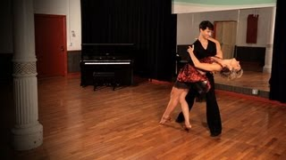 How to Turn into Dip in Swing Dance | Ballroom Dance