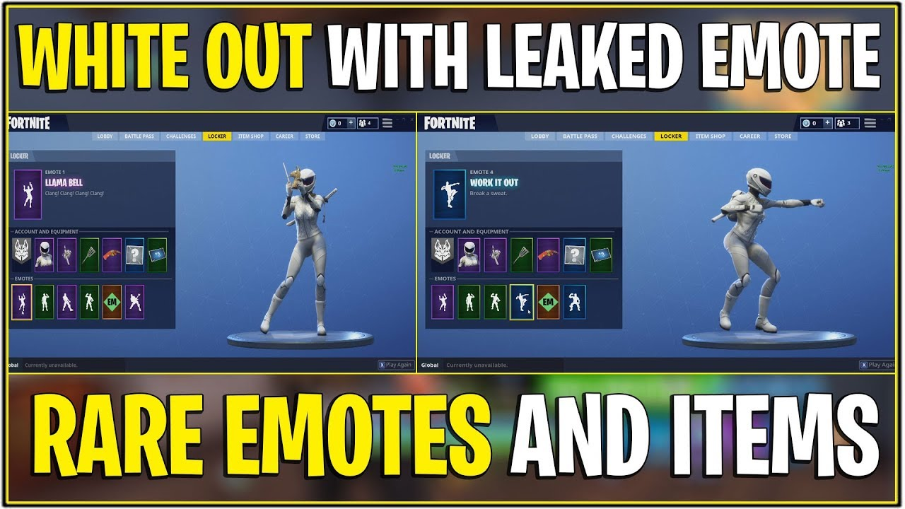*NEW* Fortnite: WHITEOUT SKIN SHOWCASE WITH *ALL* LEAKED ...