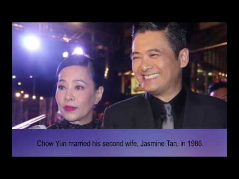 Chow Yun wife and  exwife