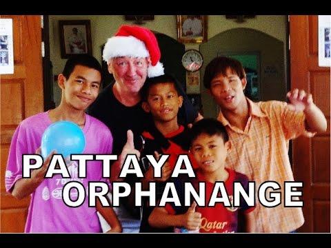 Pattaya orphanage Christmas day 2015.