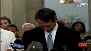 South Carolina RepubliCON Gov. Sanford admits extramarital affair 'I've been unfaithful'