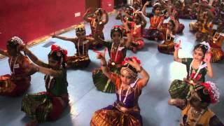 Kcalpana Kala Kendra Shloka aangikam bhuvanam kids