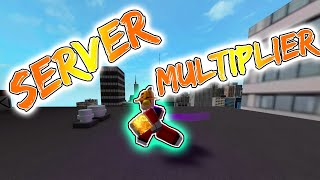 Roblox Parkour: HOW TO GET EASY SERVER MULTIPLIER (no gamepass)