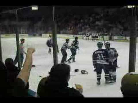 Pensacola Ice Piolets Fight