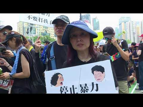 Hong Kong: nouvelle manifestation monstre | AFP News