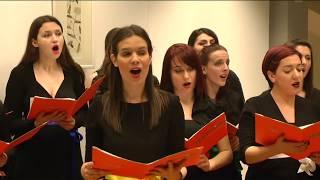 Божићни концерт и изложба наставника и сарадника Универзитета у Крагујевцу 2016, I део