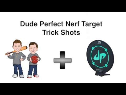 DudePerfect Nerf Target Trick Shots | Chubbs&Tubbs