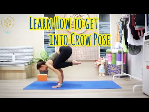 Learn how to get into Crow Pose with Ammy