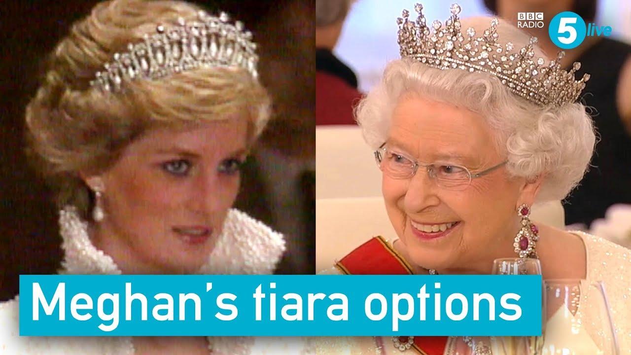 meghan s tiara options youtube meghan s tiara options