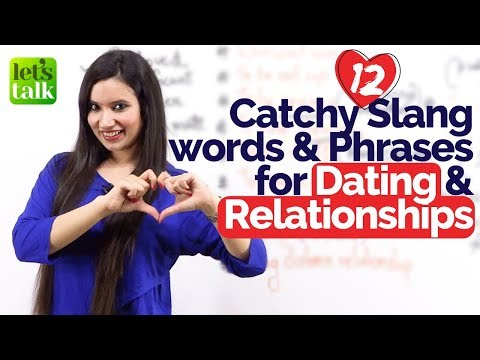 vocabulary dating and relationships