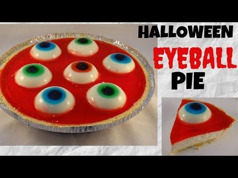 Halloween Eyeball Pie (no-bake Cheesecake)