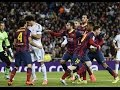 El Clasico Real Madrid vs Barcelona Fights, Fouls, Red Cards