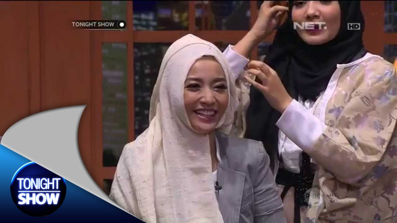Tutorial Hijab Ala Shireen Sungkar Dan Zaskia Sungkar