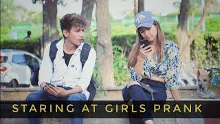 STARING AT GIRLS in India   part 3  vishal goswami baba 