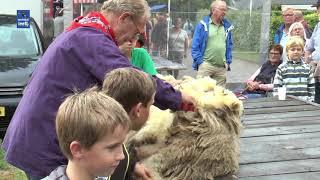 Oud Hollandse markt in Lemele met veel oude ambachten en muziek van shantykoor