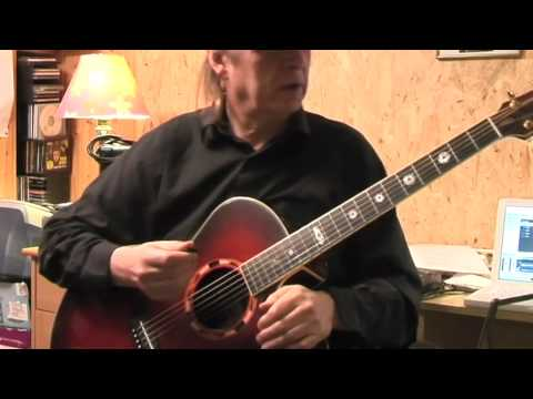 How to play the guitar fast / Drowsy Maggie Lesson by Siggi Mertens