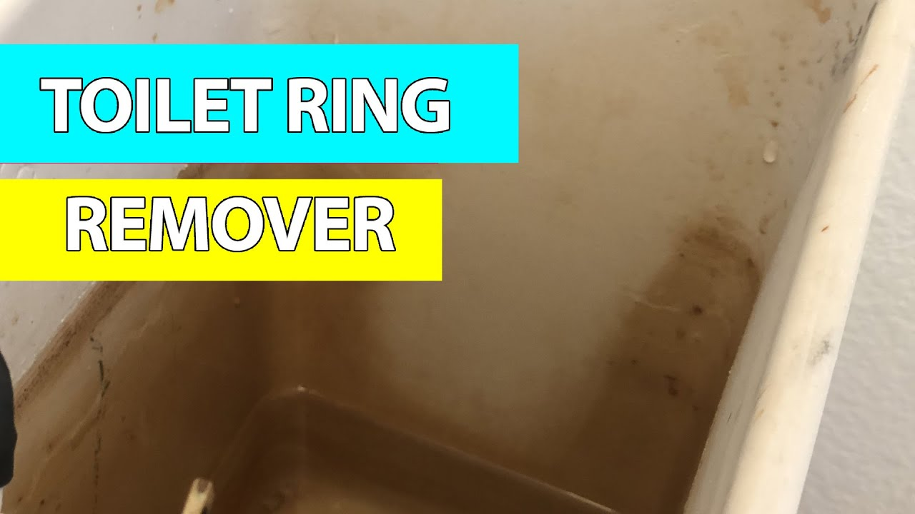 toilet rings how to get off