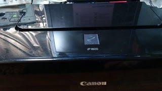 Как сбросить уровень чернил на принтере Canon
