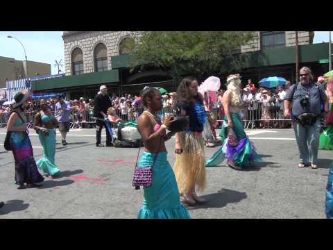 Video#1095 Coney Island Mermaid Parade 2013 Pt 2