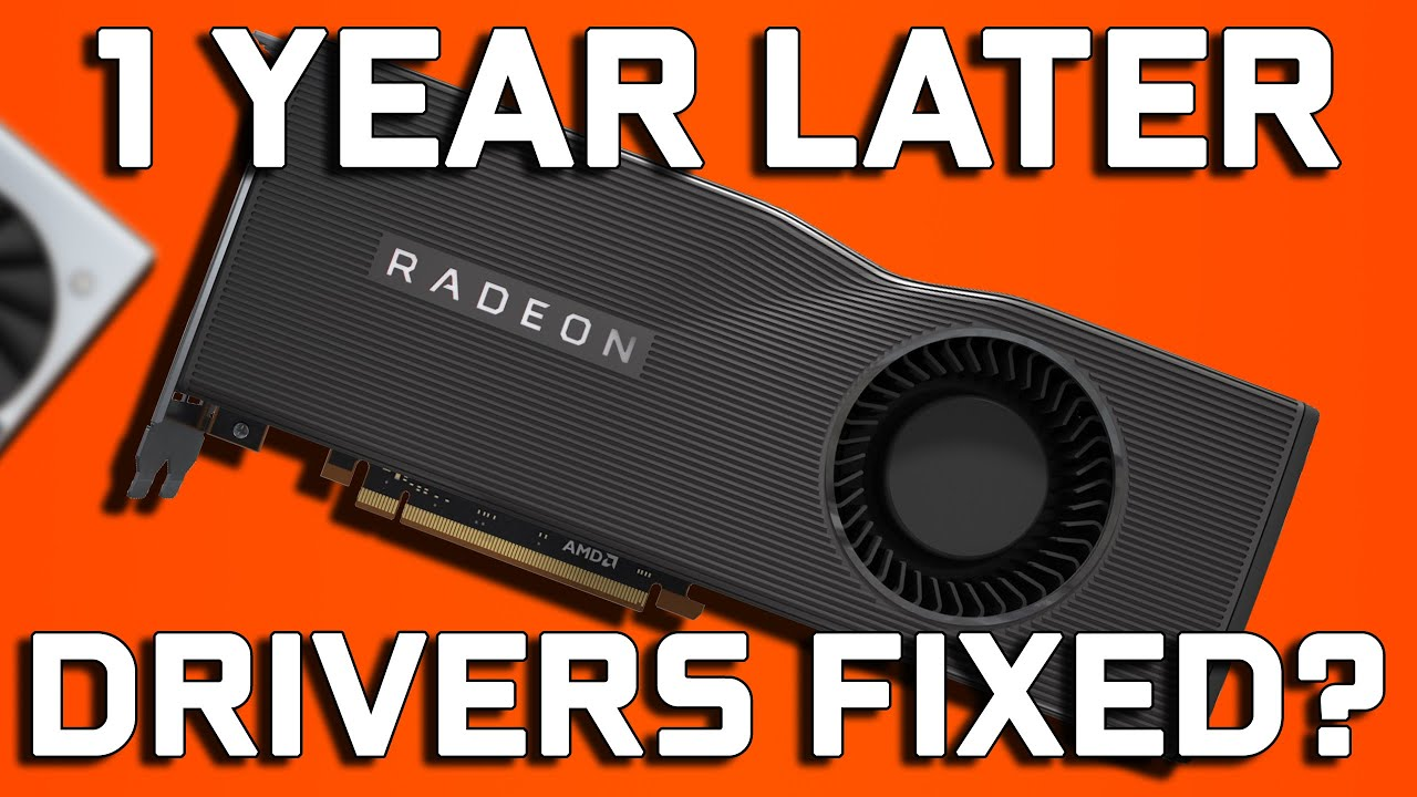 AMD Radeon 20.7.1 Driver Blackscreens & Fixes - Navi 1 Year Later