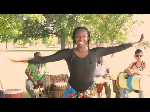 West African Dance Instructional Dance Class: KuKu Style