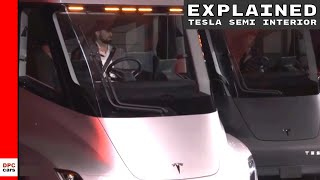 Tesla Semi Truck Interior Explained - DPCcars