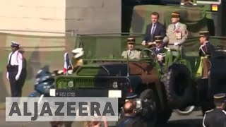 Macron seeks to charm Trump at Bastille parade in Paris thumbnail